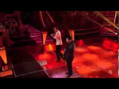 Bryan Keith vs  Collin McLoughlin   Santeria The Voice Battle Round