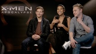 Tye Sheridan, Alexandra Ship & Ben Hardy X Men Apocalypse Interview