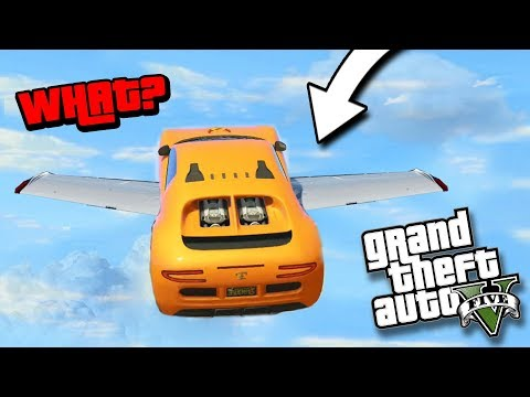 THIS CAR CAN FLY OVER PLANES!?