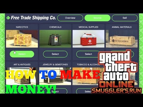 Gta Smugglers Run Update How To Make Money Guide Mission