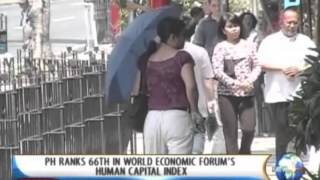NewsLife: PH ranks 66th in World Economic Forum's Human Capital Index || Oct. 2, 2013