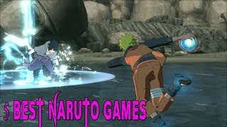 TOP 5 BEST ROBLOX NARUTO GAMES 2017/18!