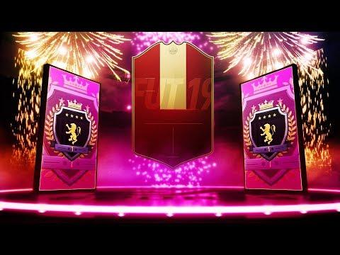 INSANE LUCK! ELITE 1 TOTS FUT CHAMPIONS REWARDS! #FIFA19 ULTIMATE TEAM