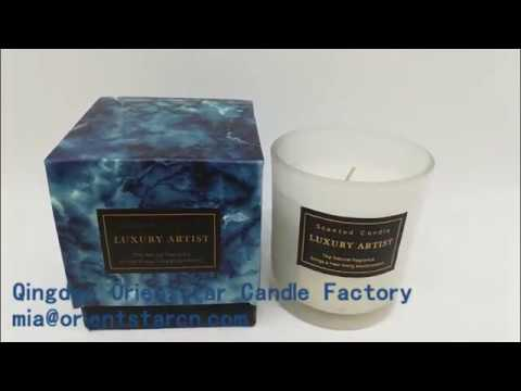 Qingdao Orient Star Candle AROMA scented candle with gift box