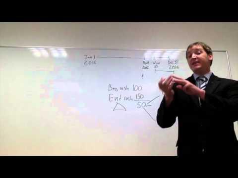University of Guam Teaching Demo (cash flow)