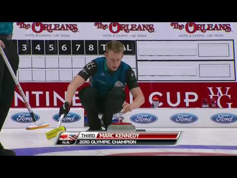 2017 Continental Cup of Curling - Koe vs. Edin