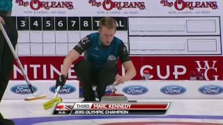 2017 Continental Cup of Curling - Koe vs. Edin