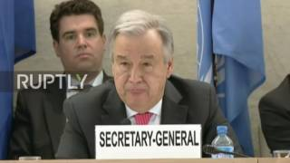 Switzerland: Sufficient funds for full implementation of Yemen programme 'in months' – Guterres thumbnail