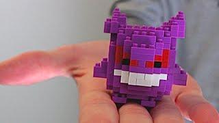 Building Lego Pokemon!! Gengar Nanoblock