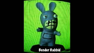 Rabbid figurines