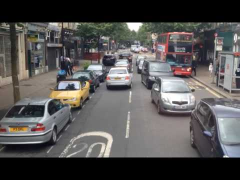 East Dulwich Time Lapse Bus Ride