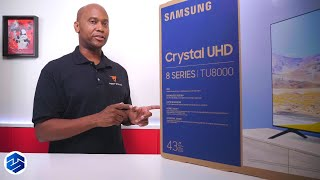 2020 Samsung TU8000 Crystal UHD 4K TV - What You Should Know