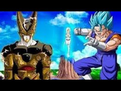 La Historia de Golden Cell Completa ● Vegetto vs Cell Super Saiyajin Blue | Mundo Dragon Ball