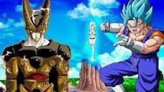 La Pelicula de Cell Saiyajin Blue Completa ● Vegetto vs Cell Super Saiyajin Blue | Mundo Dragon Ball