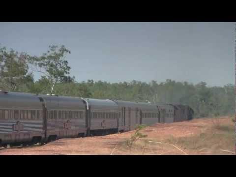 Railway Rambles Darwin Australia Ghan Express Jenkins Road X'ing