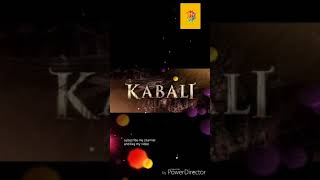 Kabali song