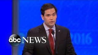 Marco Rubio Why He Should Be Commander in Chief [Republican Debate Highlights]