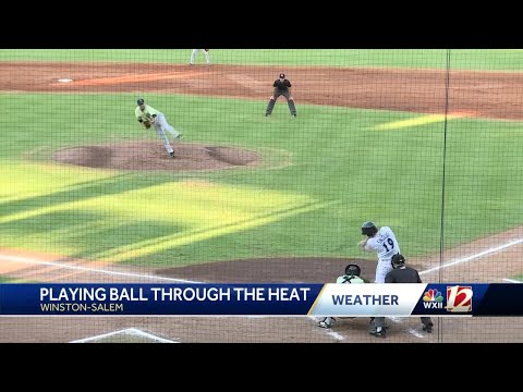 How Winston-Salem Dash Players Handle Scalding Temperatures