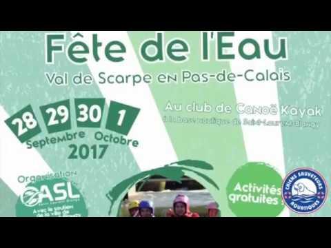 Chiens Sauveteurs Aquatiques à la fête de l'eau Val de Scarpe - Septembre 2017