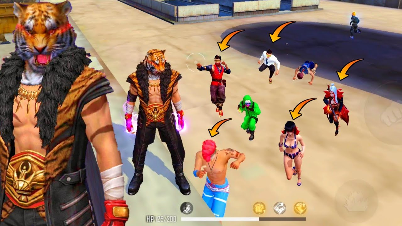 """Download 🔥""""WILDERNESS HUNTER"""" Bundle Is Back/Factory Roof Solo Vs Duo Try My Best Fist Fight-Garena Free Fire"""