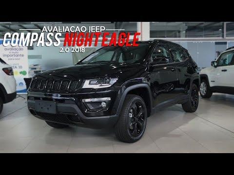 Avaliação | Novo Jeep Compass Night Eagle 2.0 Multijet II Diesel 2018 | Curiosidade Automotiva®