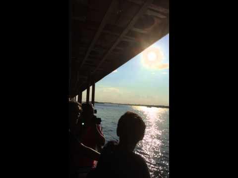 Staten Island Ferry - View of Lower Manhattan