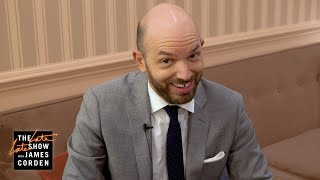 Late Late Show - Paul Scheer Answers Questions f/ Reddit's 'Too Afraid To Ask'