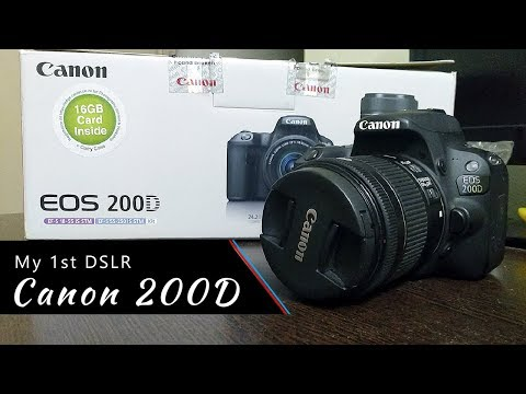 My new gear Canon 200D - Best and value for money