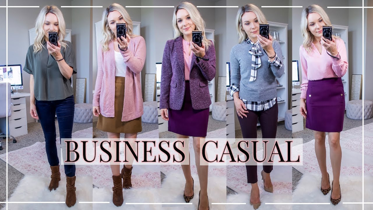 20 BUSINESS CASUAL MUST-HAVES FOR FALL  OUTFIT IDEAS  Shannon Sullivan