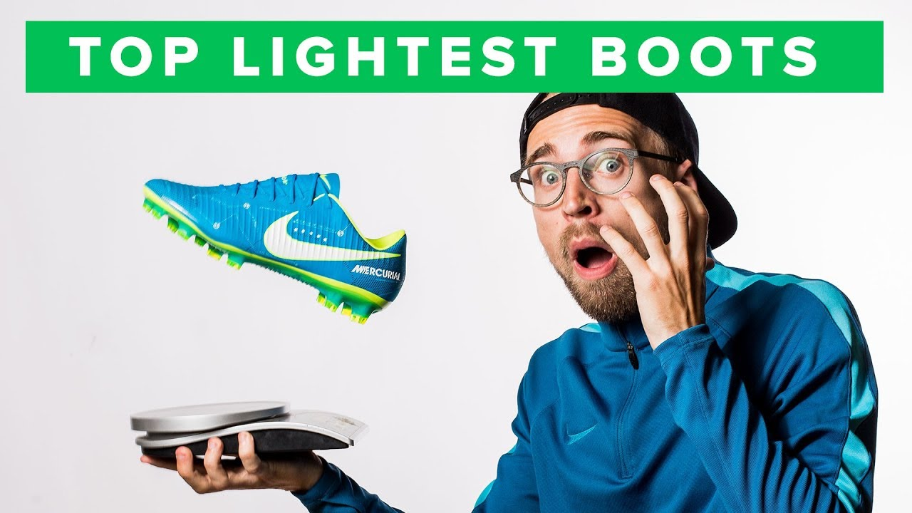 afc4a8c801e422 TOP 5 LIGHTEST FOOTBALL BOOTS 2017 - YouTube