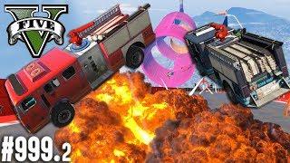 WIGGLE WIGGLE Feuerwehr Parcour (+Download)| GTA 5 - Custom Map Rennen