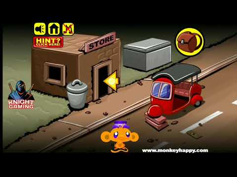 Monkey Go Happy Stage 22 Gameplay Walkthrough Solution How To Solve? Answer #22