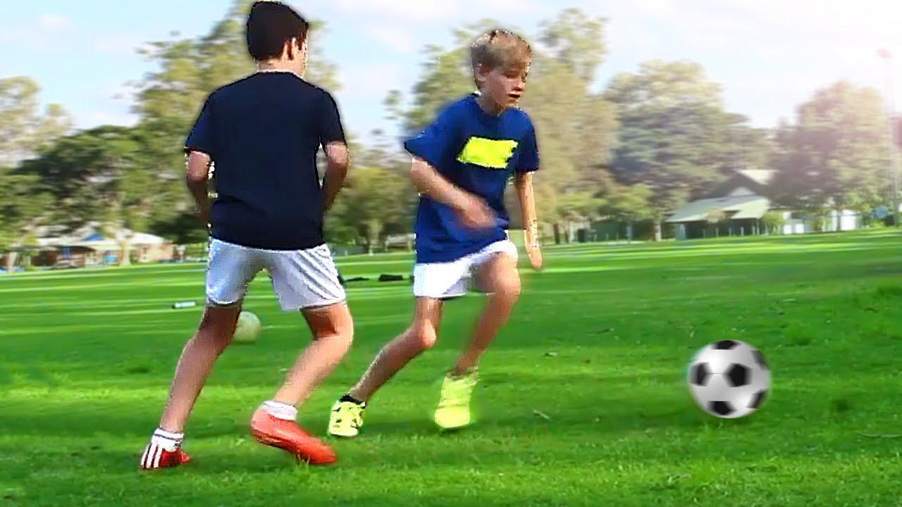 b299f444fa3 TOP 3 - Easy Football Skills for Kids   Beginner (Winger) - Tutorial -  YouTube