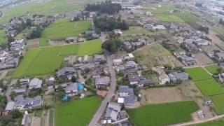 松本市笹賀 神戸上空です。