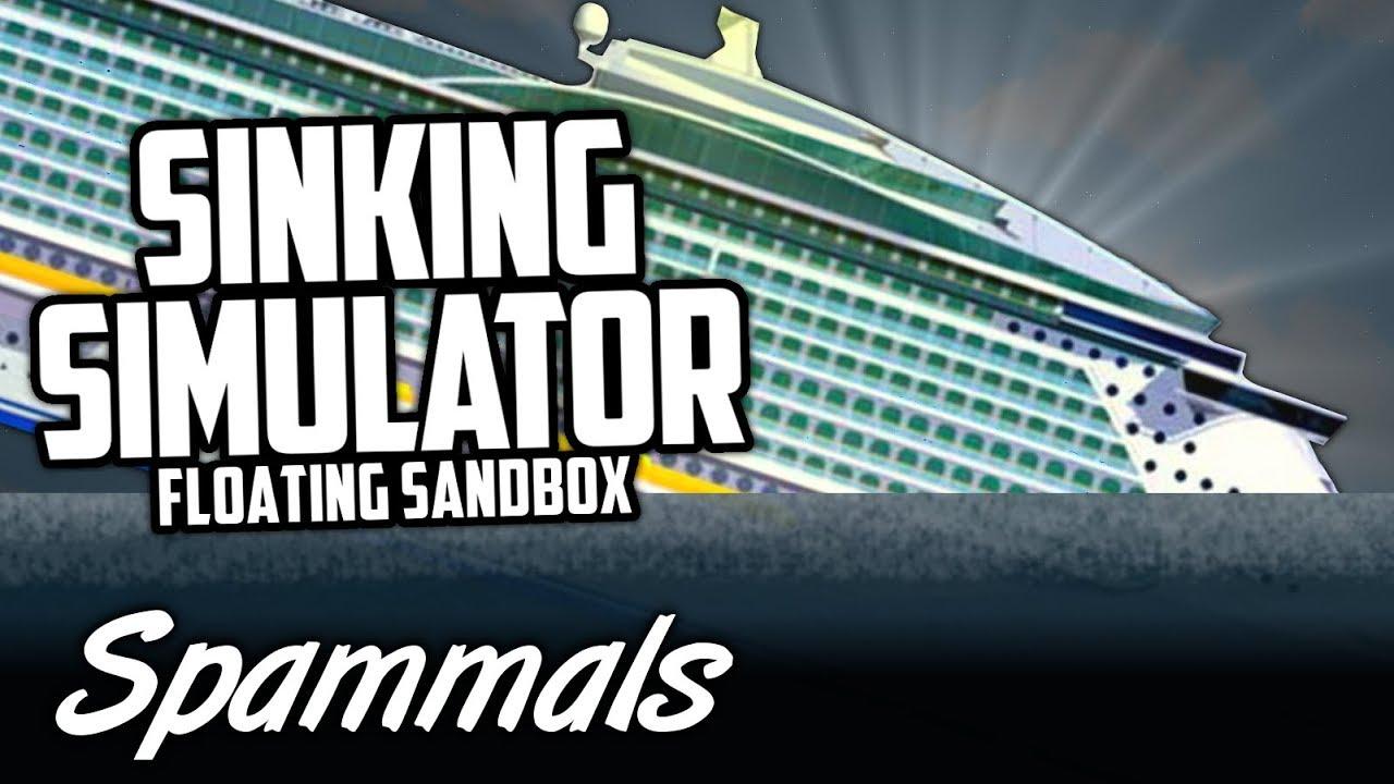 Sinking Simulator   Sinking A Royal Caribbean Ship!