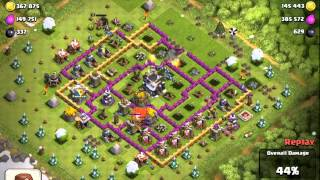 Clash of Clans (CoC) Insane 1,000,000 RAID!!!