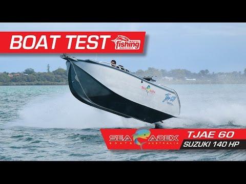 Boat Test: SeaAdex Tjae 6m with Suzuki 140HP