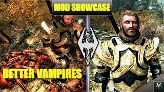 BETTER VAMPIRES!!- Xbox Modded Skyrim Mod Showcase