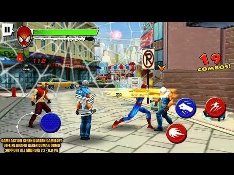 Game Jadul Keren Buatan Gameloft - Spiderman Total Mayhem HD Remastered Android - 동영상