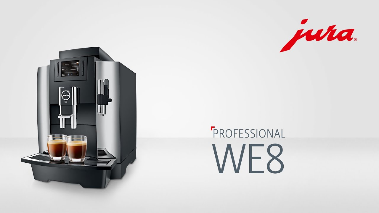 jura we8 kaffeevollautomat fully automatic coffee machine youtube. Black Bedroom Furniture Sets. Home Design Ideas