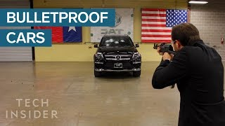 This CEO Proved His Bulletproof Cars Work By Sitting Inside One And Taking Shots From An AK-47