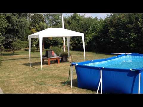 Vlog montar piscina intex rectangular 450 x 220 x 84 e for Vlog in piscina