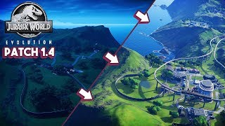 NEW PATCH IS HERE! QUICK LOOK AT FEATURES | Jurassic World: Evolution Patch Update