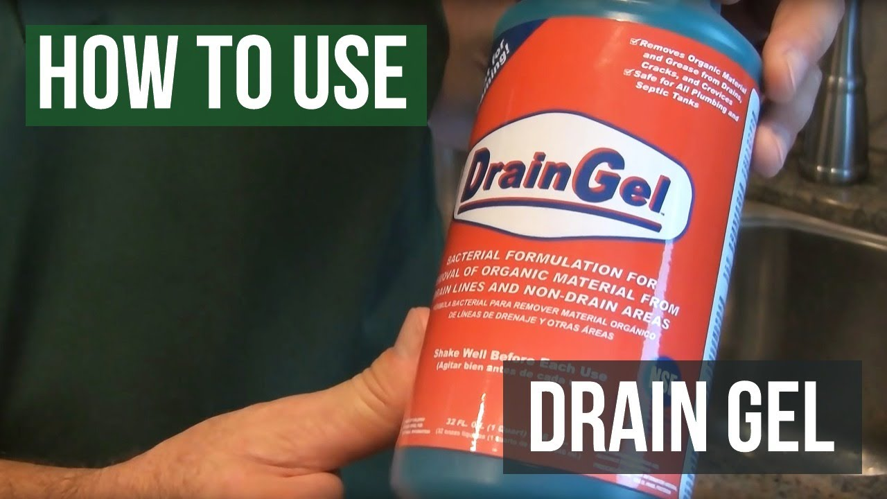Drain Gel- How to Get Rid Of Drain Flies, Phorid Flies and Fruit ...