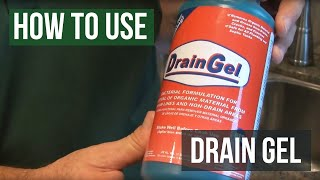 Drain Gel- How to Get Rid Of Drain Flies, Phorid Flies and Fruit Flies