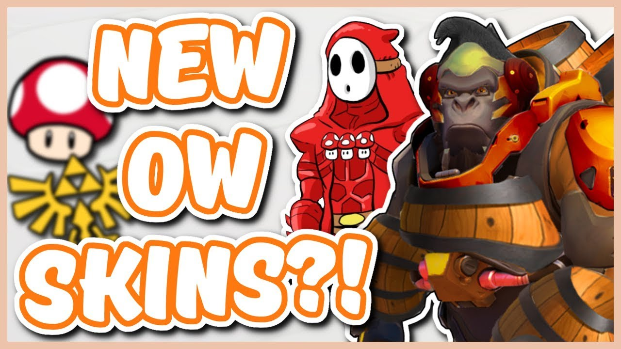 Overwatch - NINTENDO SKINS COMING INTO OVERWATCH?! thumbnail