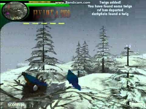 Второй обзор на игру Летай Как Птица 3 с Darky4elo and SkyKiller