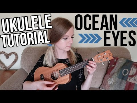 Ocean Eyes - Billie Eilish | EASY UKULELE TUTORIAL
