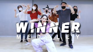 Winner medeley dance cover class video.