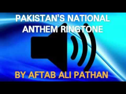 Pakistan's national anthem ringtone 2016